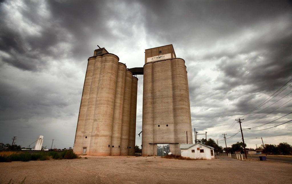 Grain drying, storage